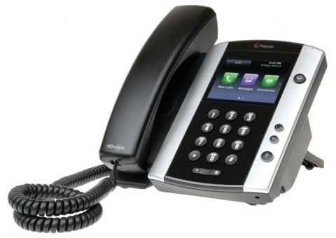 Polycom VVX 500 Media Phone - No PSU